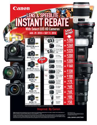 canon promotions