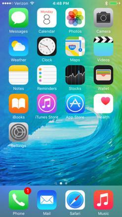 capture d écran iphone 6s