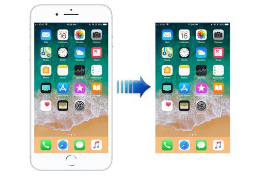 capture d ecran iphone