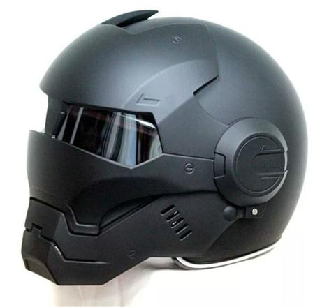 casque de moto iron man