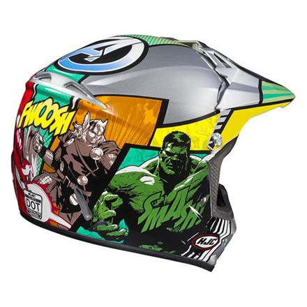 casque moto cross enfant