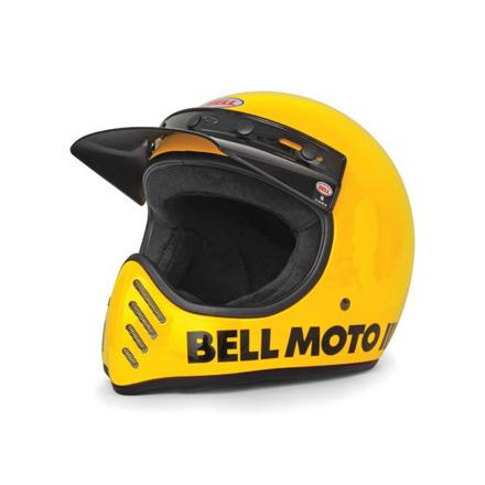 casque moto cross vintage