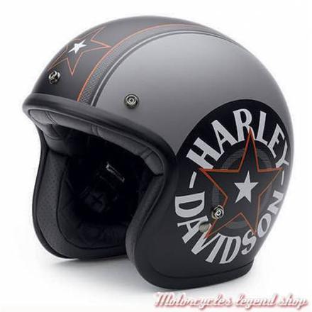 casque moto jet harley