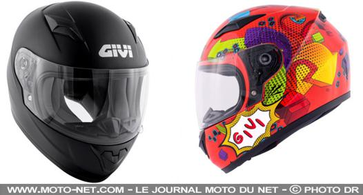 casque moto junior