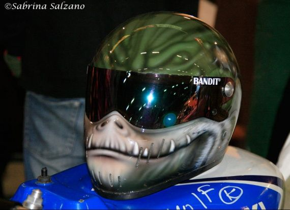 casque moto tuning