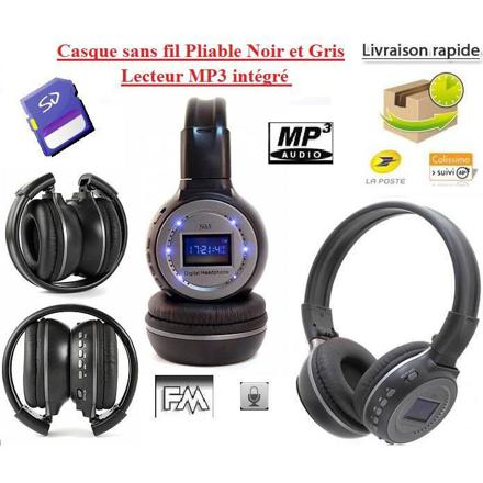casque mp3 sans fil