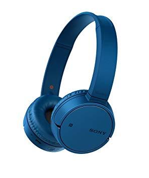 casque sony bleu