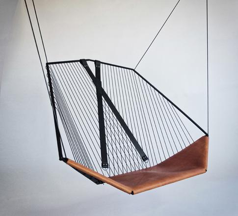 chaise suspendue design