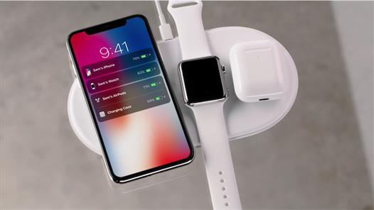 chargeur induction iphone x