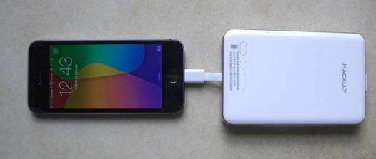 chargeur iphone sans prise