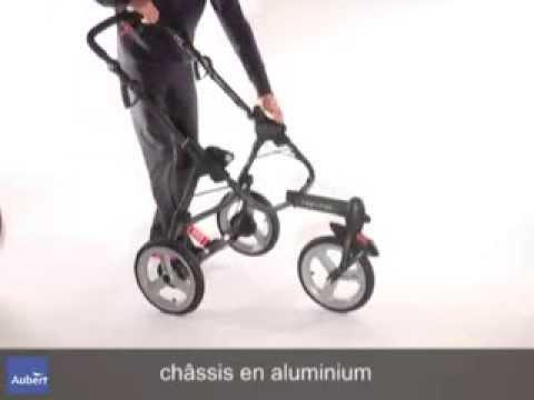 chassis poussette high trek