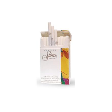 cigarette slim moins de tabac