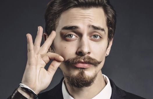cire moustache homme