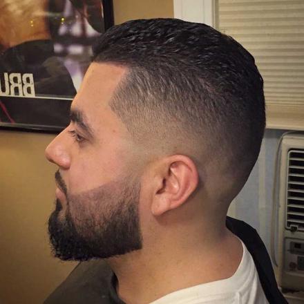 coiffure barbe