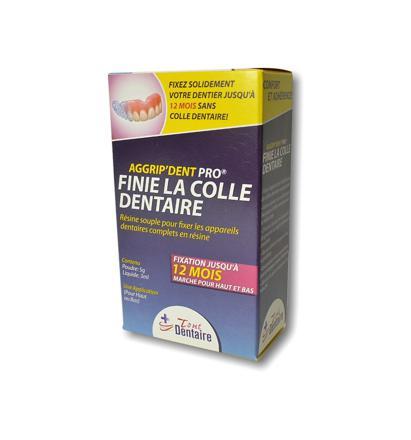 colle pour prothèse dentaire