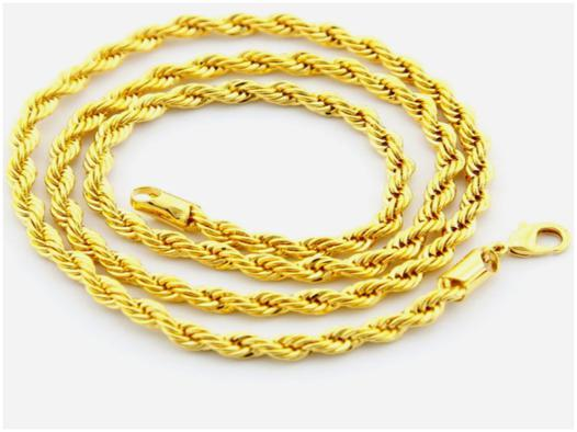 collier or 24 carats