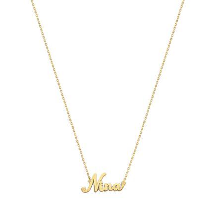 collier or prenom