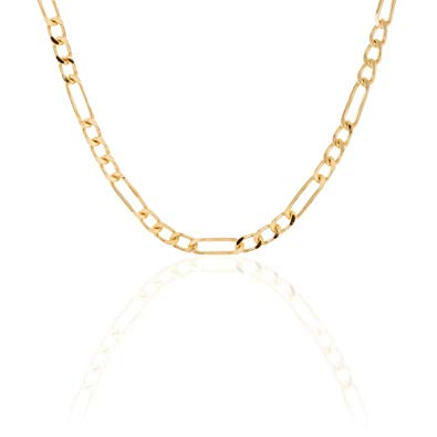 collier plaqué or homme