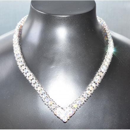 collier swarovski cristal