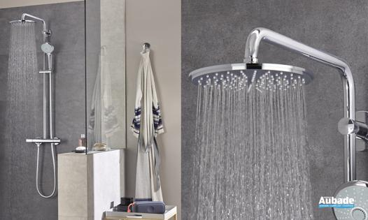 colonne de douche hydromassante grohe