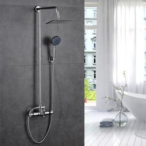 colonne douche et baignoire