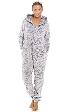 combinaison pyjama polaire femme