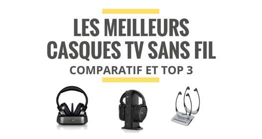 comparatif casque tv