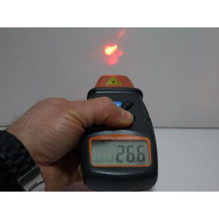 compte tour laser