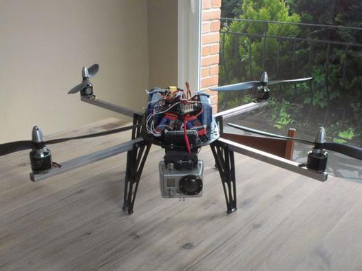 construire drone