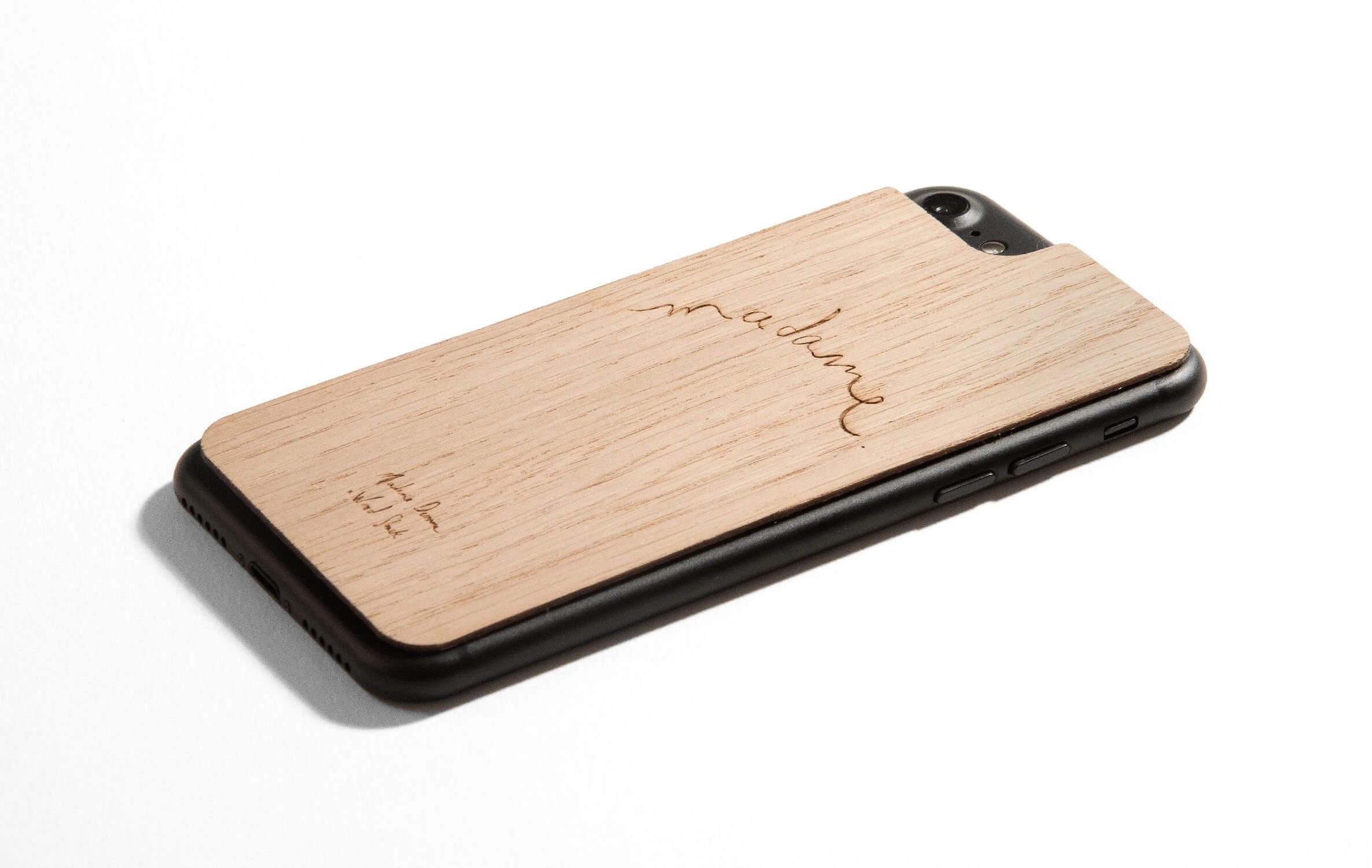 coque bois iphone 7 plus