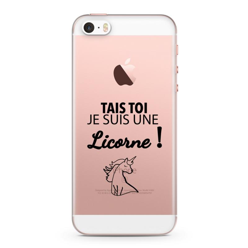 coque iphone licorne