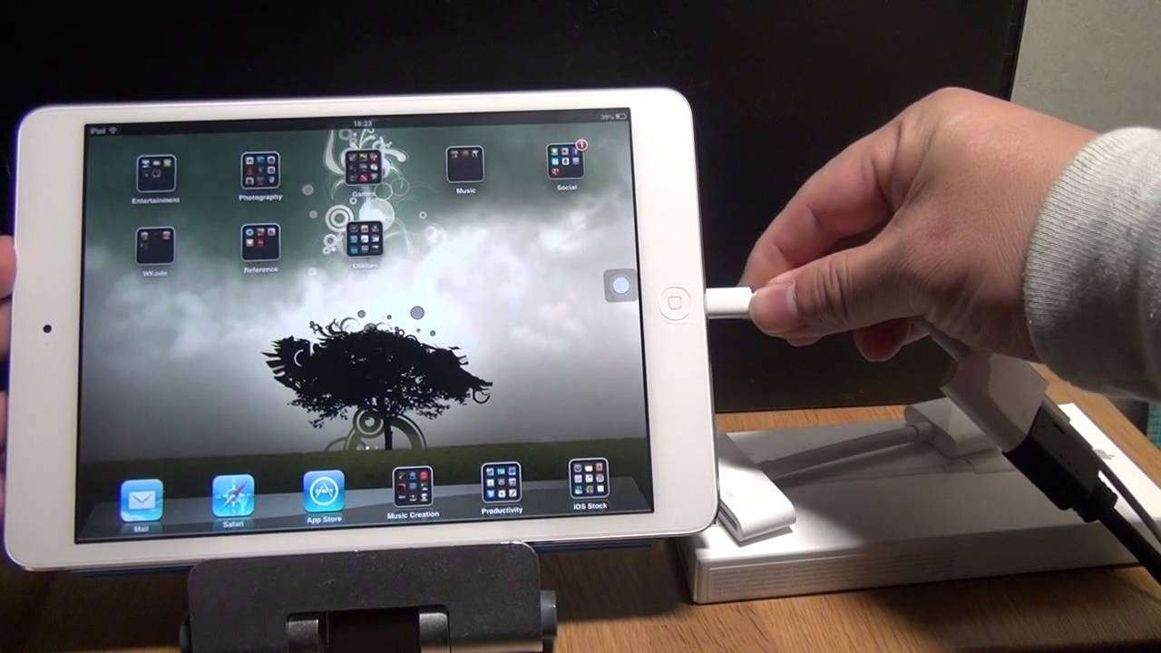 cordon ipad tv