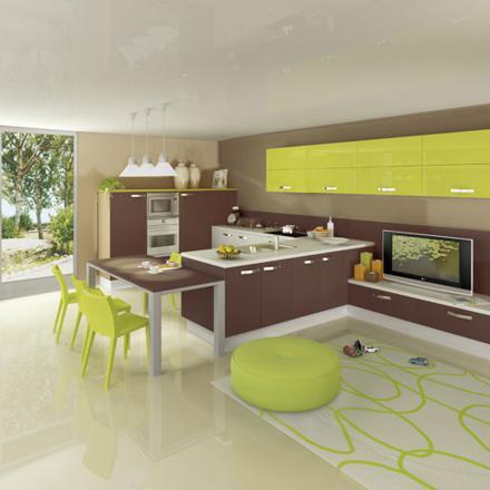 couleur cuisine feng shui