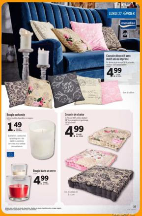 coussin lidl