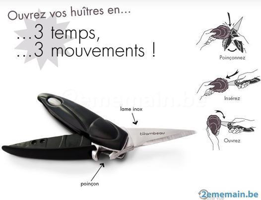 couteau à huitres birambeau