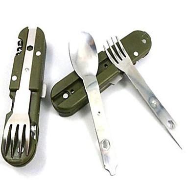 couteaux camping multifonctions cuillère fourchette