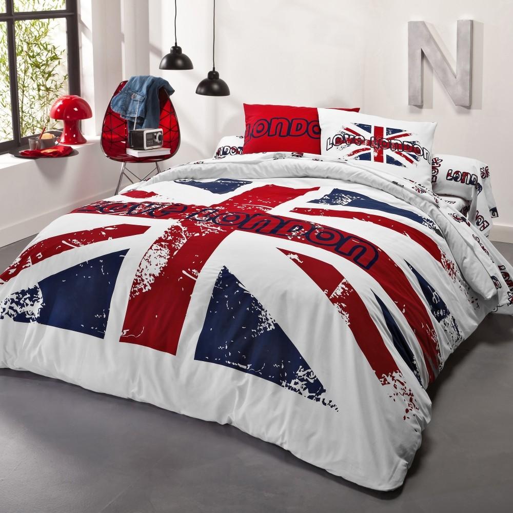 couverture de lit en anglais