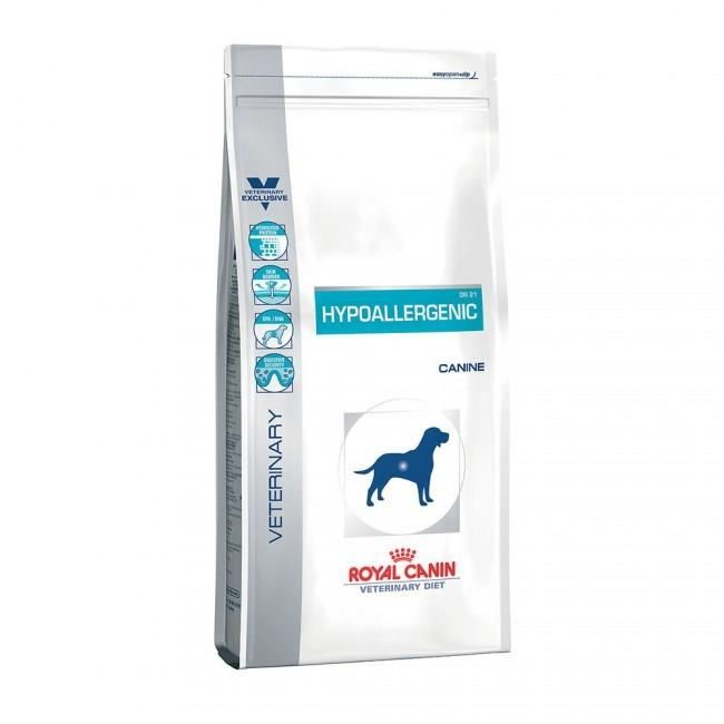 croquette royal canin hypoallergenic chien