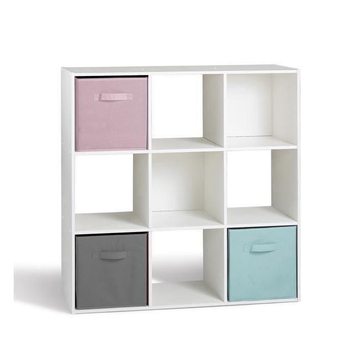 cube de rangement pas cher