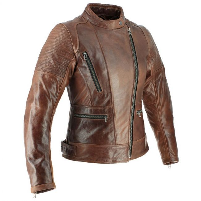 cuir moto femme