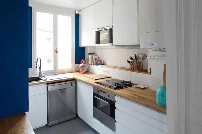 cuisine mur blanc