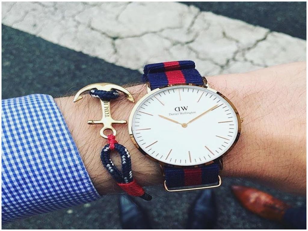 daniel wellington homme bracelet