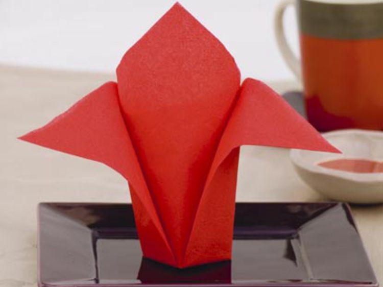deco serviette papier facile