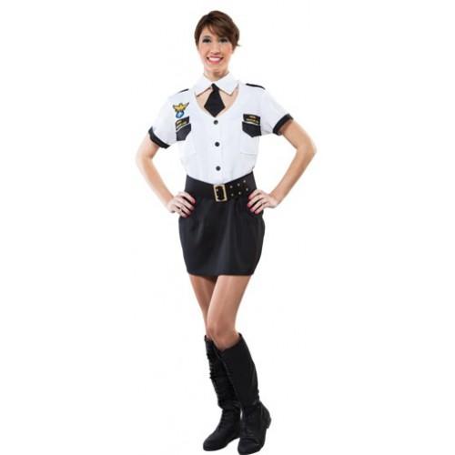 déguisement pilote femme