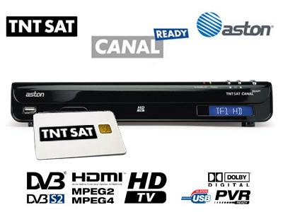 demodulateur satellite hd canal ready