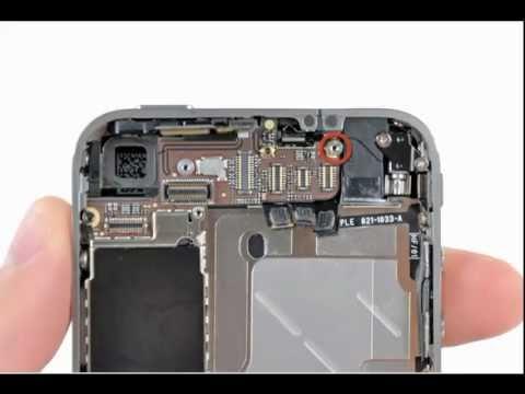 demontage iphone 4