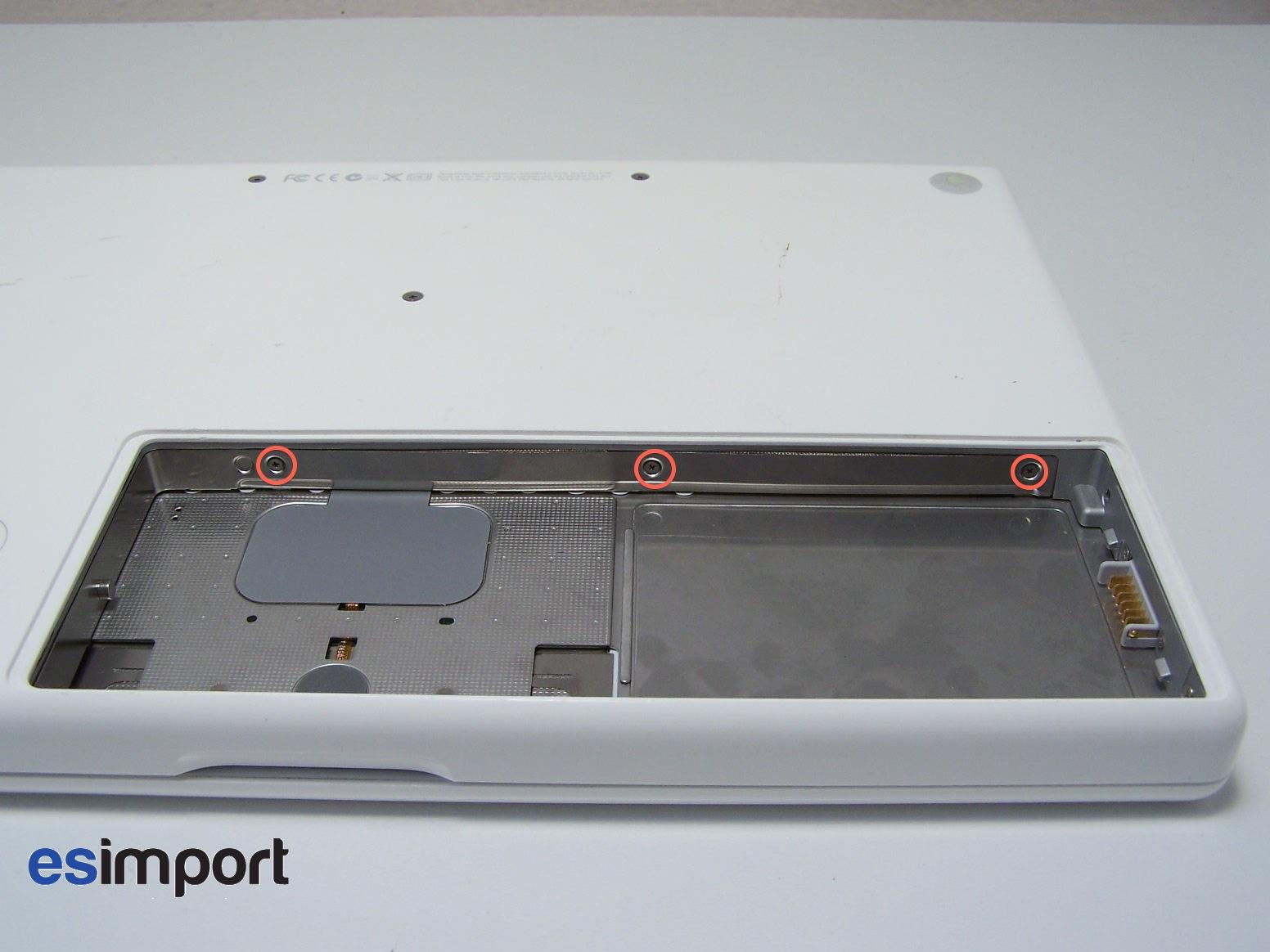 demonter macbook blanc