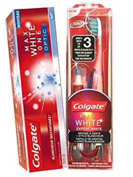 dentifrice avec stylo blancheur