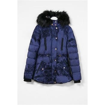 desigual manteau bleu