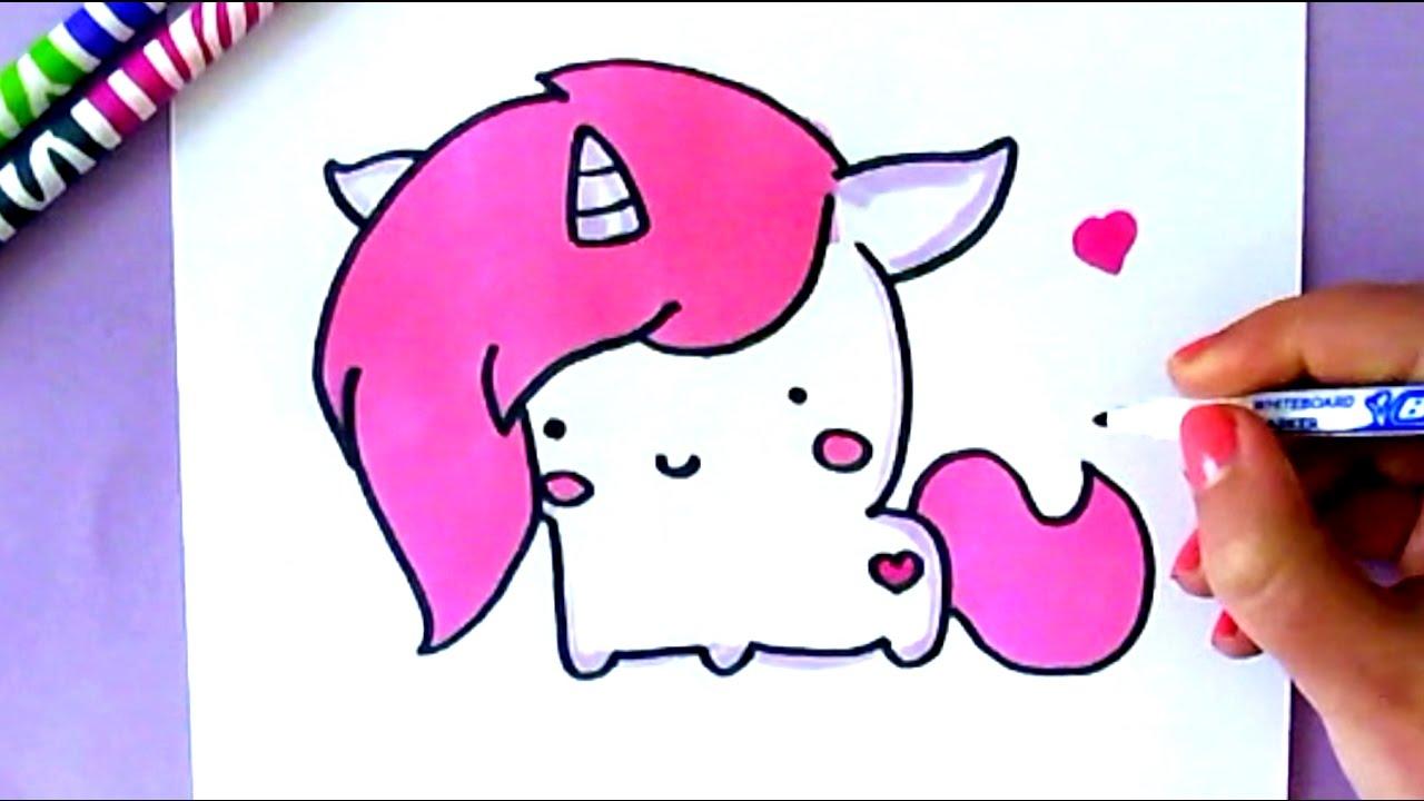 dessin de licorne swag